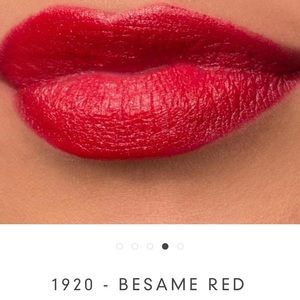 Bésame Lipstick in C208 - Bésame Red NEW